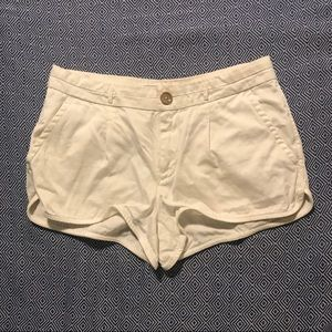 Juicy couture, White Denim Shorts